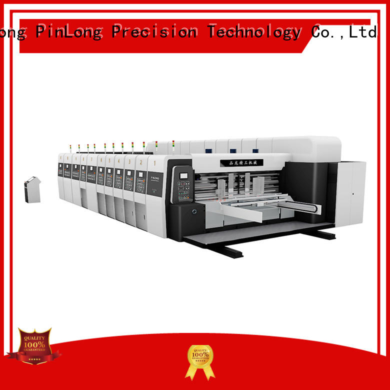 PinLong printer cutter machine slotter for plates