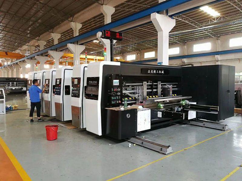 CHINA PL-GP HIGH GRAPHIC PRITNER INLINE FOLDER GLUER. YEAR 2013