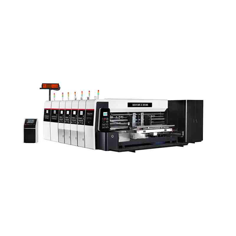 High Speed Computerized Flexo Printer Servo Motor Control Eight Axis Slotter PL-Y5