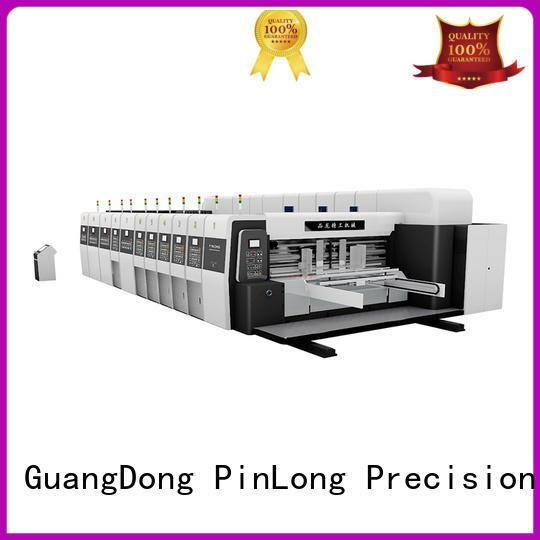 High Graphic Vacuum Transfer Printer Vanish Dryer Slotter Die Cutter PL-GP