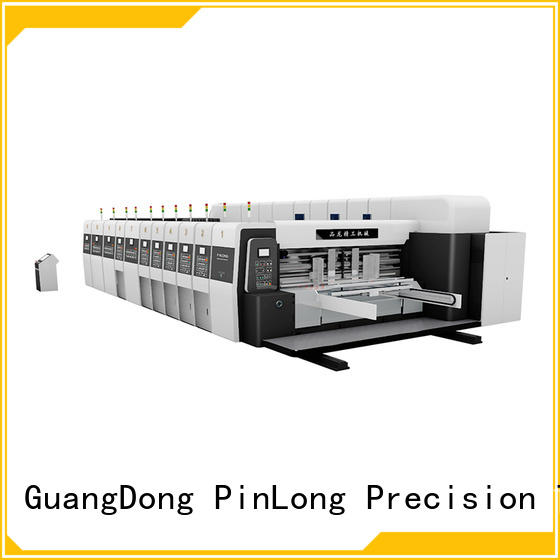 PinLong slotter printer cutter machine cheap factory price for adhesive labels