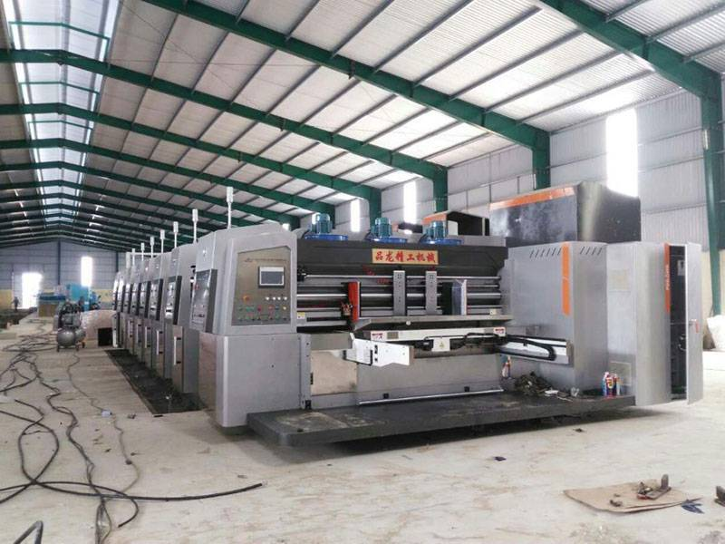 Vietnam : Ho Chi Minh  PL-GP 1224 High Graphic Whole Vacuum Transfer 5 + 1 Printer.  Year 2016