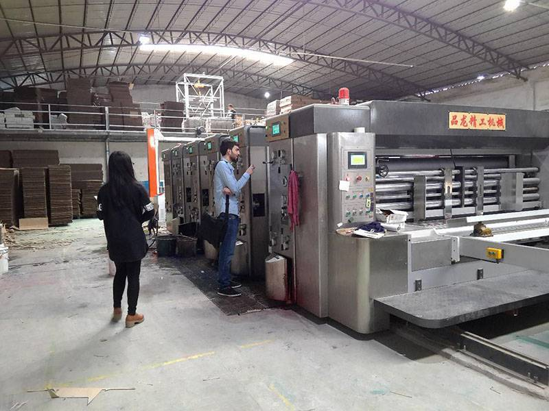 Andorra  PL-Y4  1424 HIGH SPEED FLEXO PRINTER.  YEAR 2014