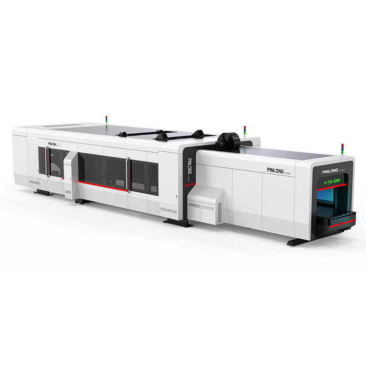 Box Maker Fully Automatic Flexo Printer Slotter Rotary Die Cutter With In-line Folder Gluer PL-FG