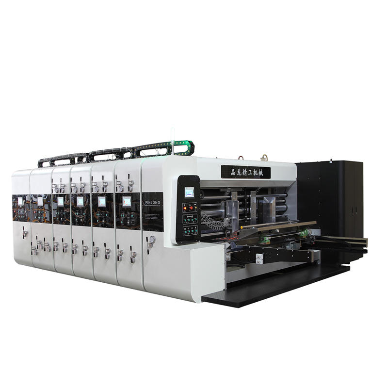 PL-Y4 Computerized High Speed Flexo Printer Slotter Die Cutter
