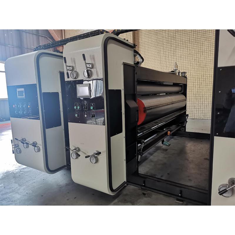 PL-Y3 Semi-Computerized High Speed Flexo Printer Slotter Die Cutter