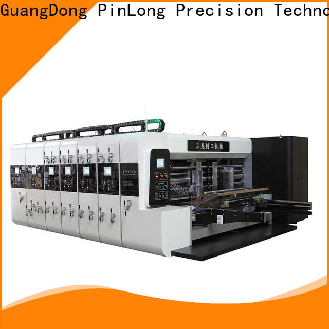 PinLong slotter flexo press machine wide application for media print
