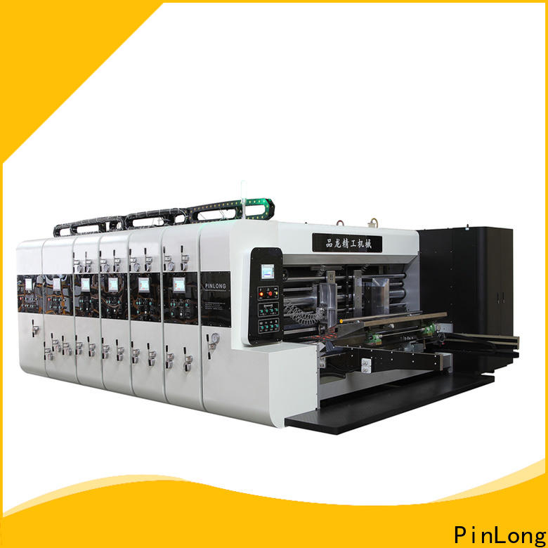 PinLong automatic flexographic printing machine at discount for cardboard