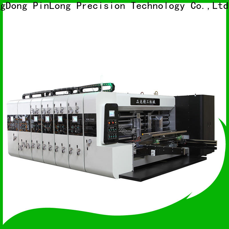 PinLong die cutter flexo press machine wide application for wrappers