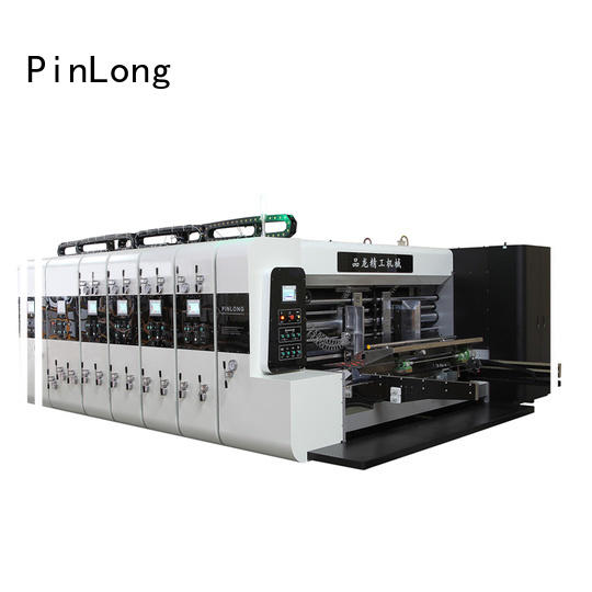 PinLong die cutter flexographic machine factory direct price for packing