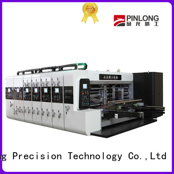 PinLong die cutter flexo press machine latest equipment for wrappers