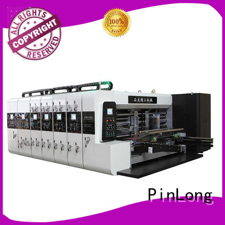 PinLong computerized flexo press machine at discount for label printing