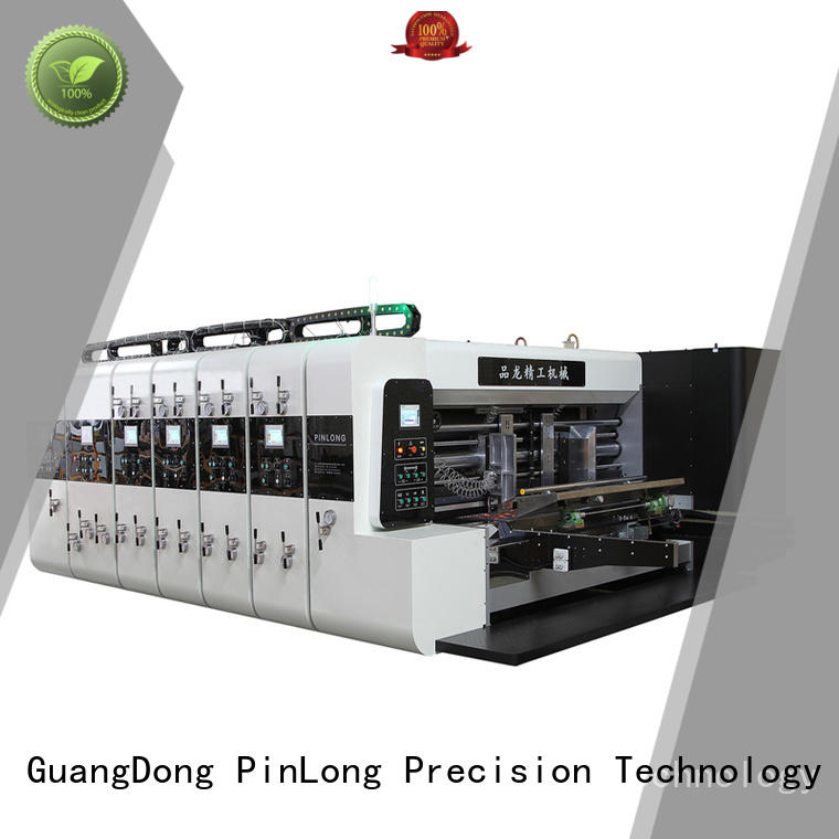 PinLong slotter flexo press machine at discount