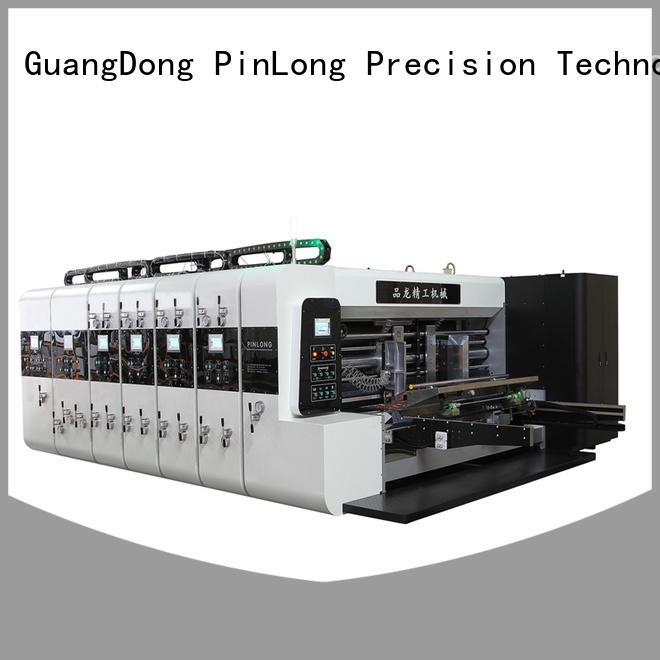 semi computerized flexo press machine slotter popular for packing